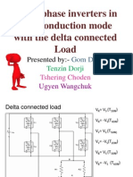 Three phase delta connected inverter