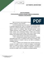 """Notă de informare privind concluziile verificărilor efectuate în legătură cu implementarea programului """"Schi în România"""""""