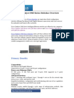 Cisco Catalyst 2960 Series Switches Overview