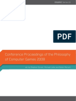 Digarec_philosophy of Computer Games