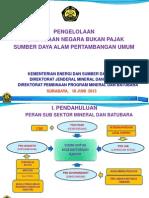 2013-05!29!40 2 Pengelolaan PNBP SDA Pertambangan Umum-Sosialisasi Surabaya (Pak Dedi)