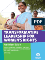 Transformative Leadership for Women's Rights