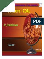 Coal STTNAS Supandi 2012 03-Pendahuluan