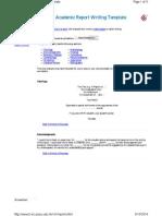 Academic Report