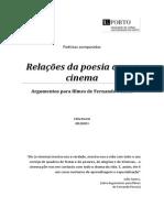 Relações da poesia com o cinema