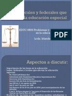 Leyes locales y federales que afectan la educación especial en Puerto Rico