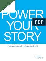 Cision 2013 eBook ContentMarketingforPR