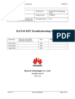 RAN10 KPI Troubleshooting Guide 20090306 a V1.0_Very_good