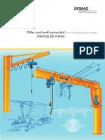 DEMAG - Pillar and Wall-Mounted Slewing Jib Cranes