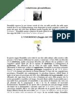 Pirandello Luigi. La Filosofia Sociale