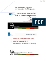 Materi Master Plan Dan FS Air Limbah
