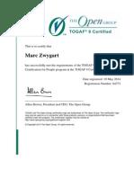 Certificate 84773