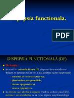 Dispepsia functionala