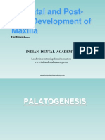 Pre-natal and Post-natal Development of Maxilla Part 4 / orthodontic courses by Indian dental academy
