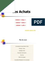 Les Achats
