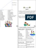 spanish year 7 unit 2 vocab sheet