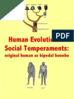 Human Evolution of Social Temperaments