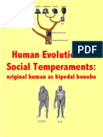 Human Evolution of Social Temperaments