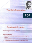 Roth's Prescription / orthodontic courses by Indian dental academy