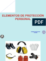 Elemento de Proteccion Personal 14-8