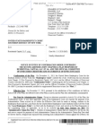 The Notice of Entry of Confirmation Order Confirming the Second Joint Chapter 11 Plan Proposed by ResCap and the Official Committee of Unsecured Creditors  with Creditor Pension Benefit Guaranty Corp.