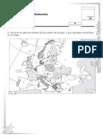 Examen Mapa de Europa Política