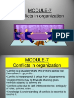 Module 7 Conflicts