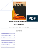 Africa and Communism