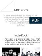 Indie Rockfor English
