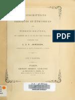Janssen, L. 'Inscr. Grec.-etr. Pierres Gravées Cabinet p. Bajos' La Haya 1866