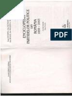 Enciclopedia Partidelor Politice Din Romania 1859-2003