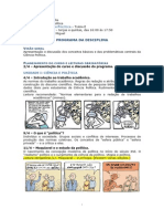 Ementa - Introdução à Ciência Política - Luis Felipe Miguel