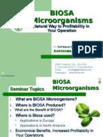 2005 BIOSA Microorganisms
