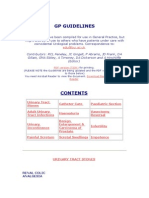 Gp Guidelines