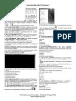 Questões - Windows 7