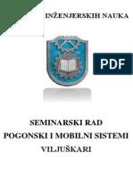 Seminarski Rad - Viljuskari