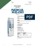 Nokia x2-00 Rm-618 Service Manual-1,2 v1.0