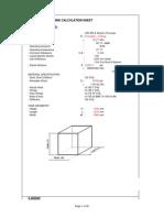 110749555 Rectangular Tank Calculation