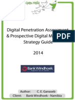 Bank Windhoek - Digital Penetration Assessment & Prospective Digital Marketing Strategy