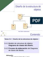 Tema 3.4 - Diseno de La Estructura de Clases