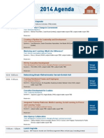 2014 Government Workforce Agenda