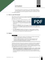 Sección 1 - General Information