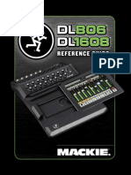 Mackie DL1608 Reference Guide