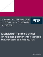 BLAD Modelación Numérica en Ríos en Régimen Permanente y Variable - Blade Et Al