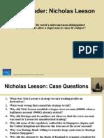 Nicholas Leeson