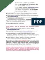 Documentos Para Escritura-pessoa Fisica e Juridica