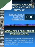 Presentación UNASAM Visión, Misión-1