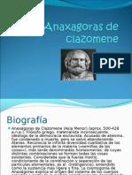 Anaxagoras de clazomene