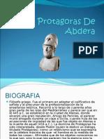 Protagoras De Abdera