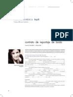 Contrato Reportaje Boda II